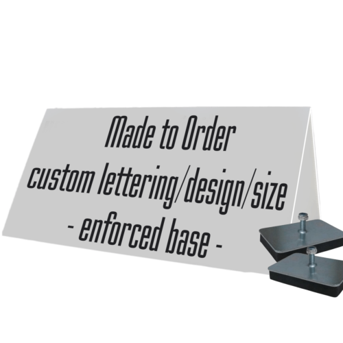 car dealer roofsign custom made to order