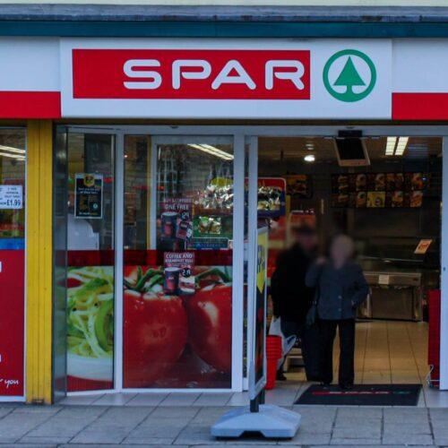 shop signage spar