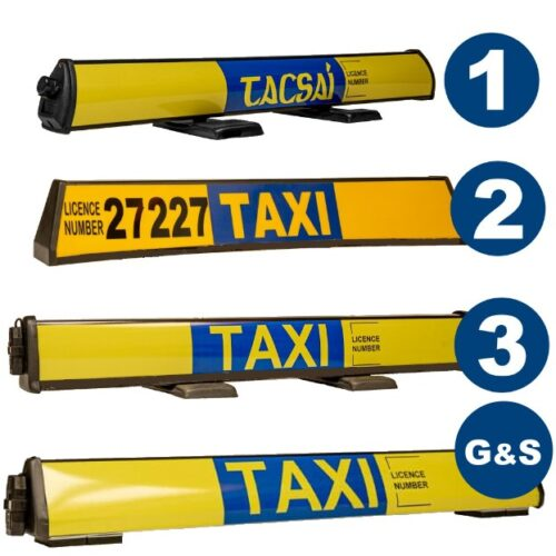 taxi roofsigns refurbished