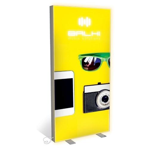 125mm Vector LED Freestanding Lightbox  125mm Freestanding Lightbox 2000 x 1000