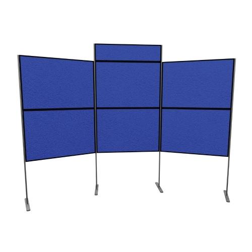 6 Panel and Pole Display Board Kit  900mm x 600mm Baseline