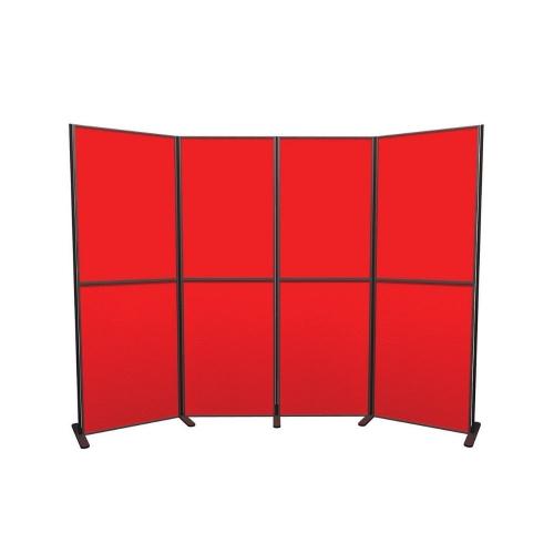 8 Panel and Pole Display Board Kit  900mm x 600mm Baseline