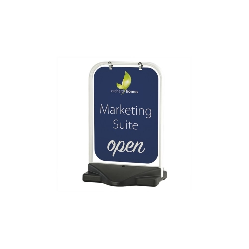 Aquabase Swing Panel Pavement Stand  910mm x 640mm
