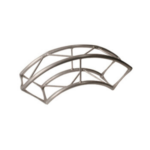 Arena Curved Section Structures  1000mm Curved Section