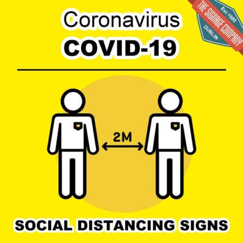 Coronavirus Wash Your Hands Sign Dublin COVD-19 Signage