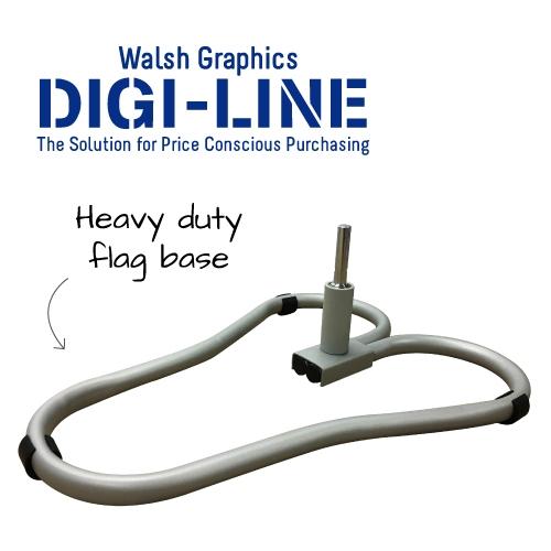 DIGI-LINE Car Base Y Shape (heavy duty)  each