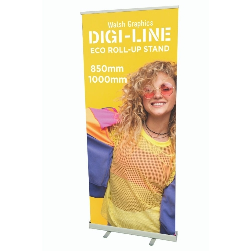 DIGI-LINE Eco 1000mm Roll-Up Stand Each