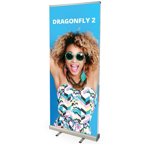 Dragonfly Double Sided Roll-Up Stand 1-8 units