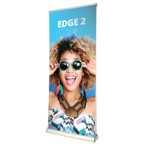 Edge 2 Double Sided Roll-Up Stand 850mm
