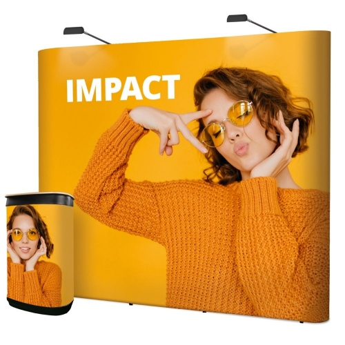 Impact Straight Pop-Up  3 x 2
