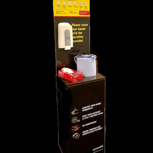 Modular Sanitising Station