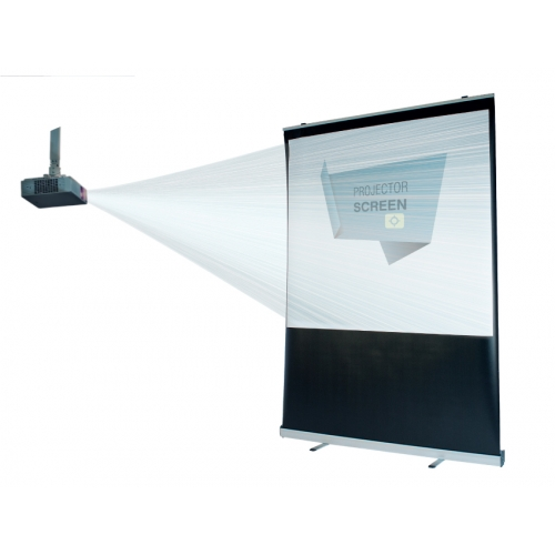 Portable Projection Roll Up Screen 1+ units