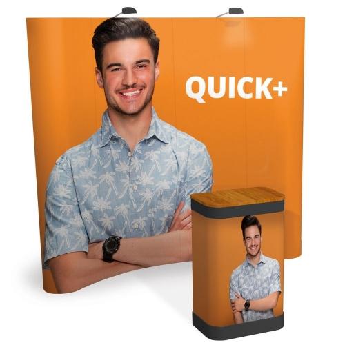 Quick Plus Curved Pop-Up Bundle  3x2