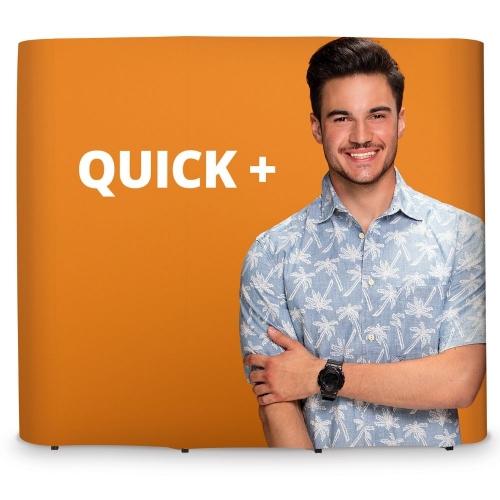 Quick Plus Straight Pop-Up  3x2