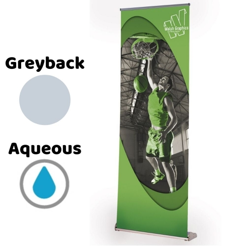 Roll-Up Banner for Aqueous Inkjet 914mm x 50m roll