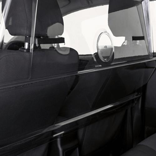Taxi protection screen polycarbonate carpol