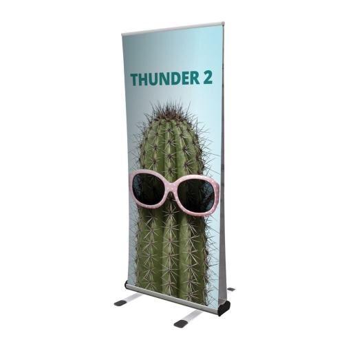 Thunder – Outdoor Double Sided Roll-Up Stand Each