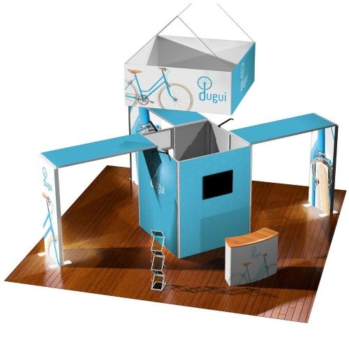 Vector Modular Stand - 49m sq  Each