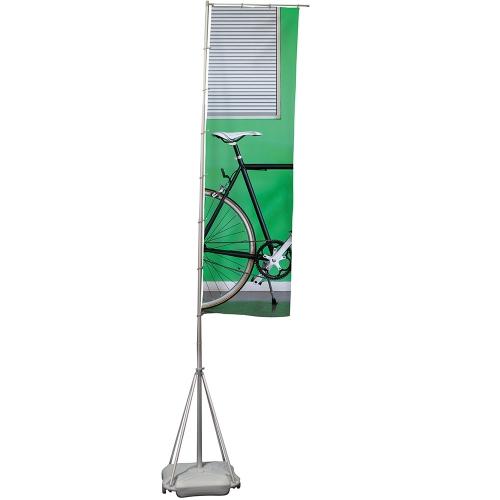 Wind Dancer Flag Pole & Base  Each