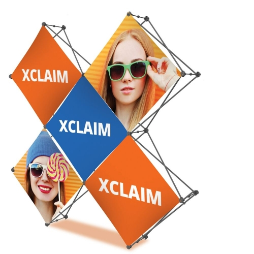 Xclaim Pop-Up Frame System  Xclaim: 2X2