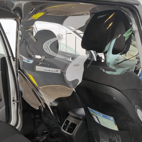 taxi protection screen for car