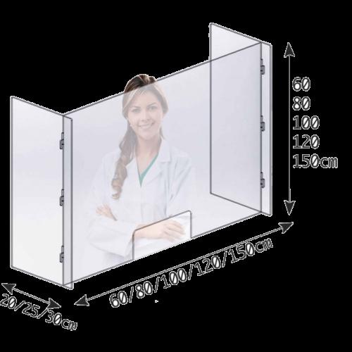 virus protective panel