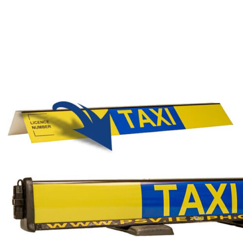 roofsign panel for taxi roofsign 3