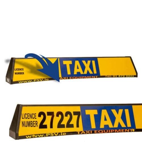 taxi roofsign panel for taxi roofsign 2
